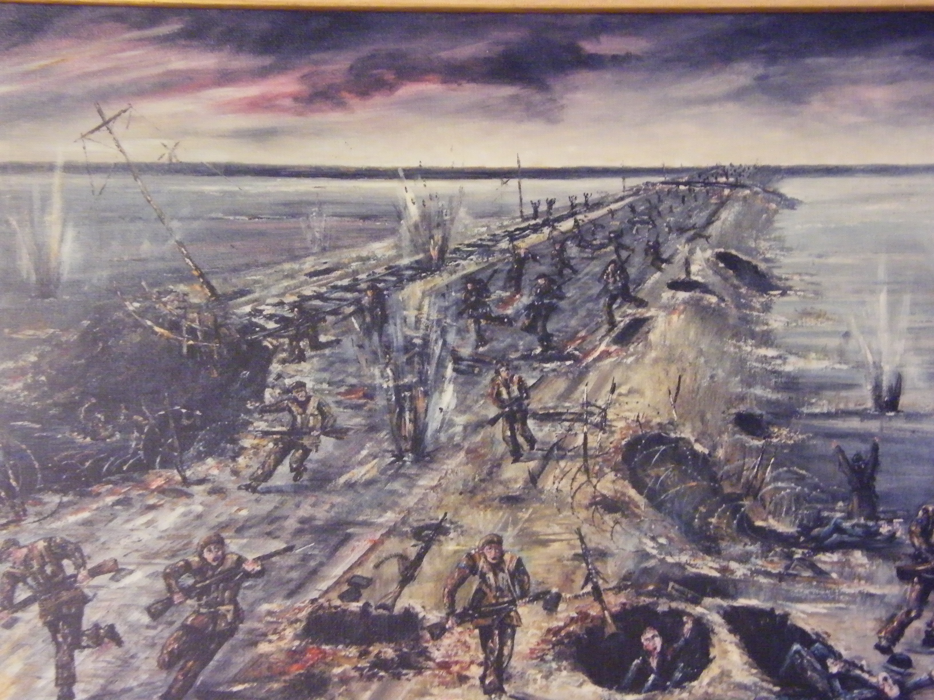 392. The assault on the Walcheren Causeway